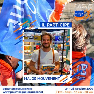 Major-Mouvement-ambassadeur Plus vite que le cancer